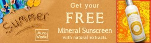 Auravedic Sun Blocks Giveaway (20 Winners)