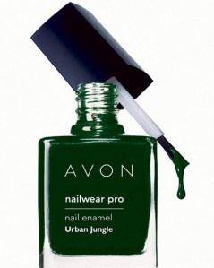 Avon Nailwear Pro Nail Enamel Urban Jungle- Review, NOTD