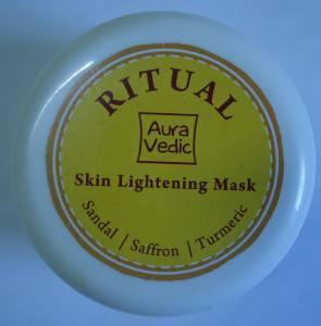 Auravedic Ritual Skin Lightening Mask Review