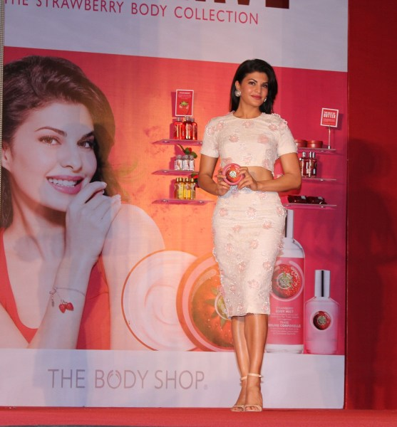 Jacqueline Fernandez- New Face of The Body Shop India