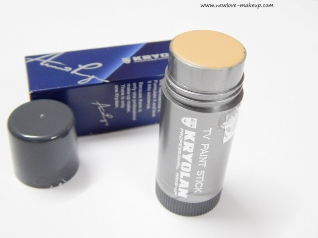 Kryolan Tv Paint Stick Foundation Review Swatches New Love Makeup