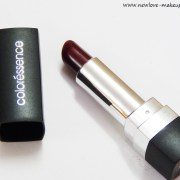 Coloressence Mesmerizing Lip Color Moods in Maroon Review, Swatches