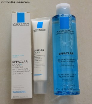 La Roche-Posay Effaclar Duo, Astringent Toner Review, Indian Beauty Blog, Skincare
