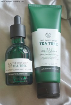 The Body Shop Tea Tree Range 3 in 1, Daily Solution Review