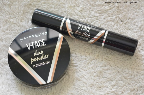 Maybelline V Face Duo Stick, Duo Powder: Honest Review, Swatches