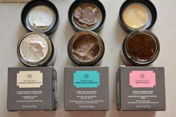 What is Multi Masking? New The Body Shop Facial Masks Review