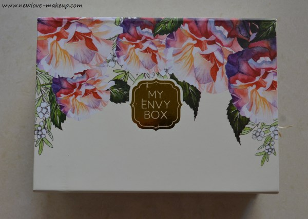 March 2017 My Envy Box Review & Unboxing
