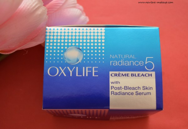 Oxylife Natural Radiance 5 Crème Bleach Review