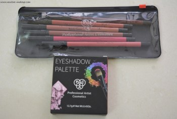 PAC Colorlock Longlasting Lipliners & Matte Eyeshadow Palette Review, Swatches