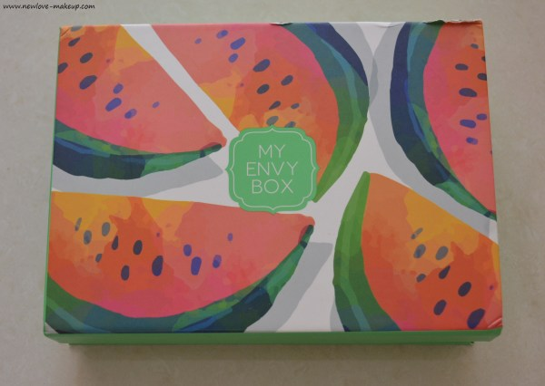 May 2017 Sip Of Summer My Envy Box Review, Unboxing