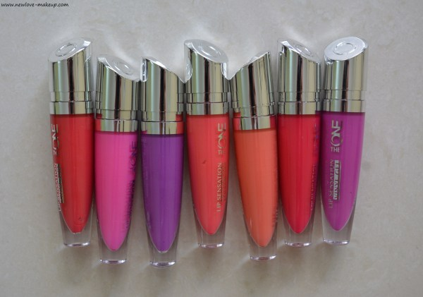 Oriflame The One Lip Sensation Vinyl Gel Review, Swatches
