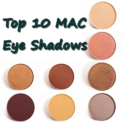 Top 10 MAC Eye shadows for Indian Skin Tones | Indian Bridal Makeup Kit