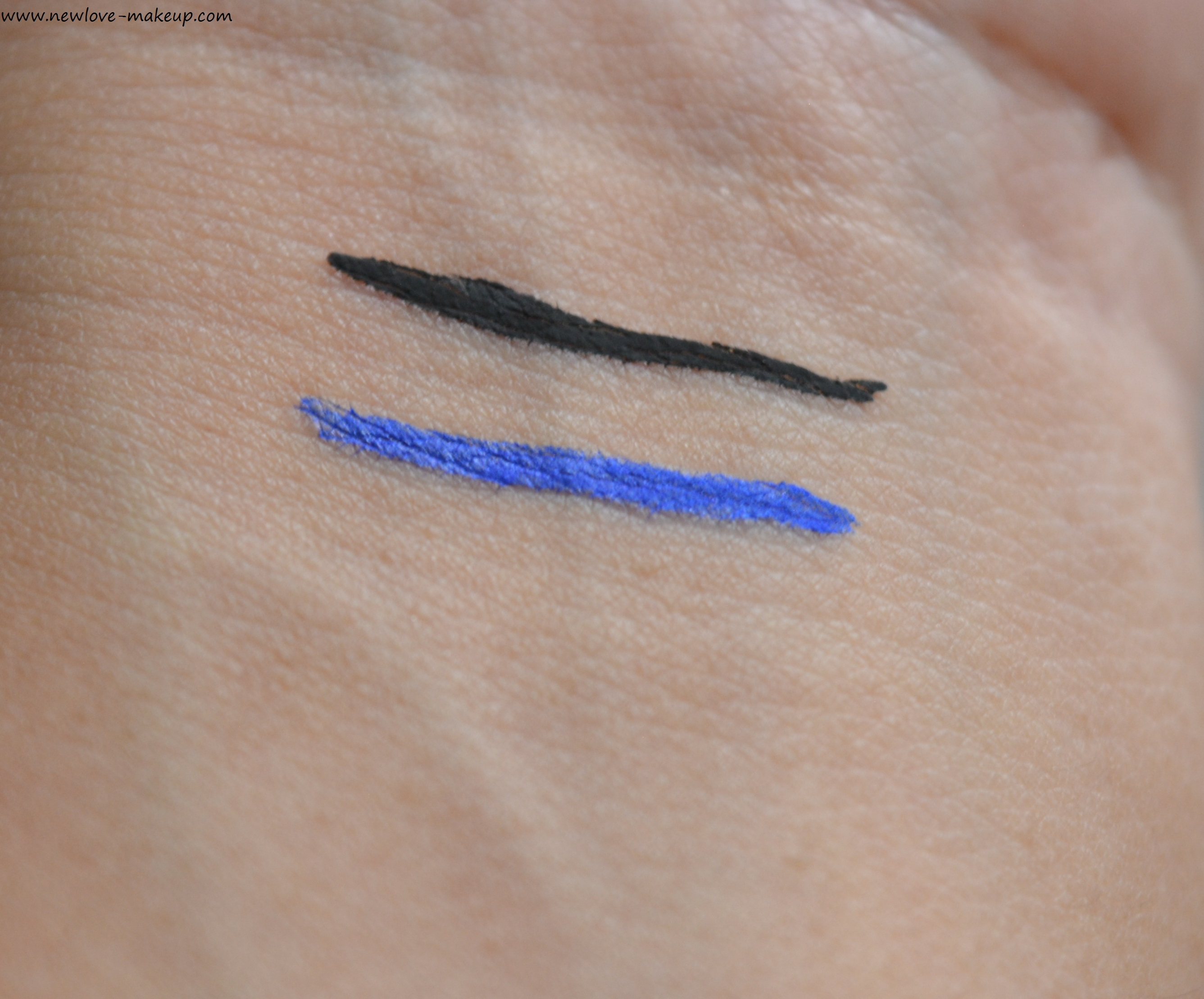 Faces Ultime Pro Matte Play Eyeliner Black/Blue Review, Swatches