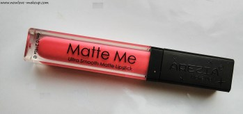 Arezia Matte Me Liquid Lipstick Rose Blossom Review – Sleek Matte Me Dupe?