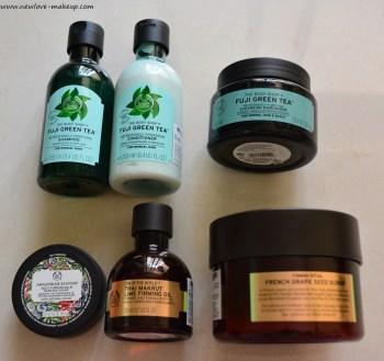 The Body Shop Fuji Green Tea Haircare, Amazonian Saviour Balm, Spa of the World New Launch Review