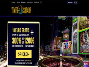 Exclusive Time Square Casino No deposit bonus