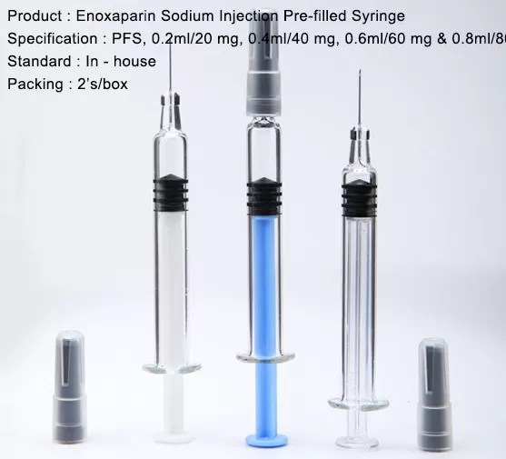Enoxaparin 60 Mg Syringe Graduations