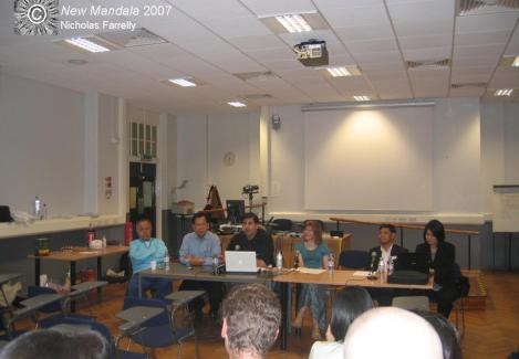 Thailand after the coup, SOAS, London, 2007
