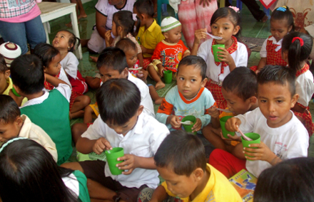 The Indonesian Government has started to improve programs for children aged 0-6.  Photo: Erly Tatontos / World Bank