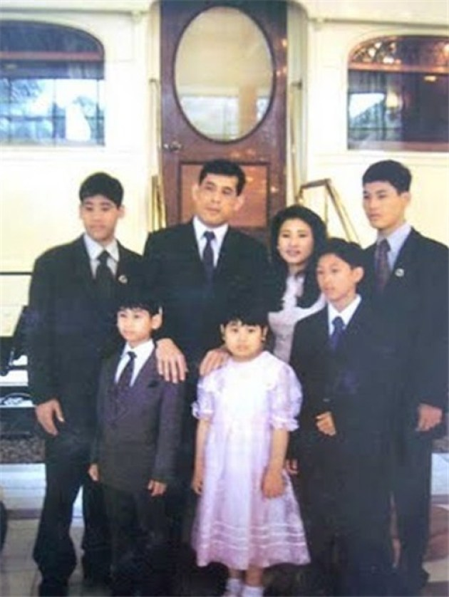 thailand-crown-prince-family