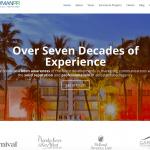 NewmanPR website landing page