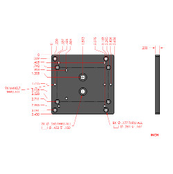 Adapter Plate RM3 to LS