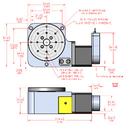 RM-3 Vacuum Compatible Rotary Stage