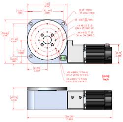 RM-5 Servo Motorized Rotary Stage