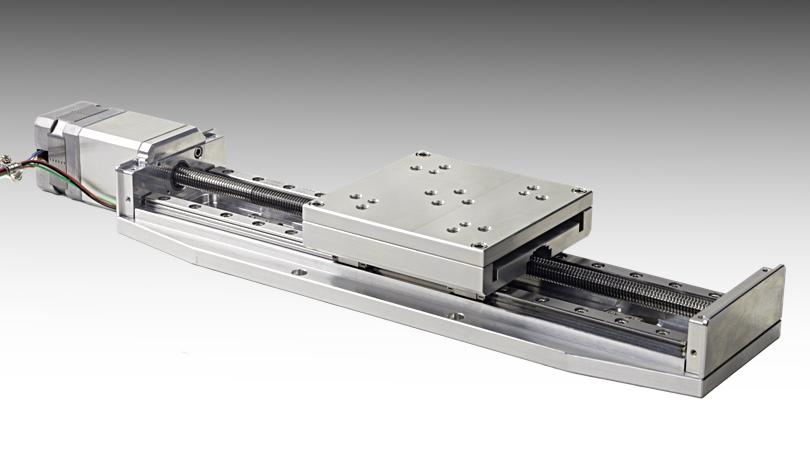 NLS4 vacuum compatible linear positioner