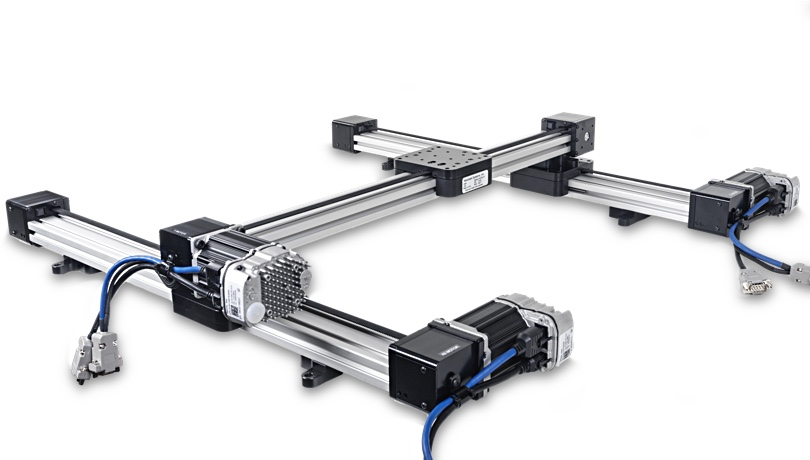 xy gantry long travel linear stage