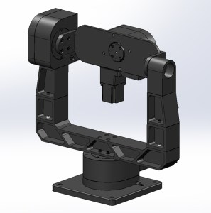 GM-12ER 3 Axis Gimbal mount with direct read encoder