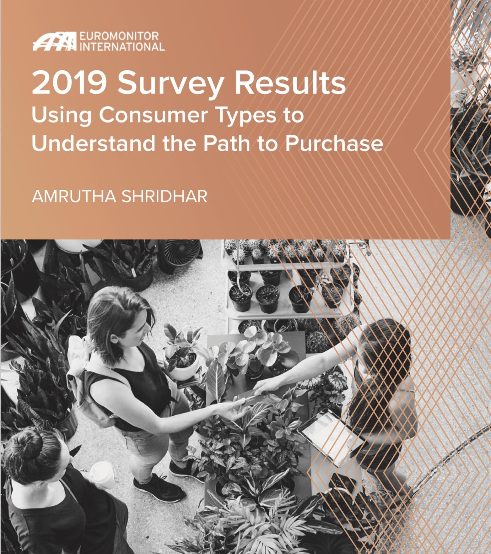 "2019 Consumer ""types"""