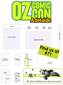 OCC Adelaide 2015 Booth Promo