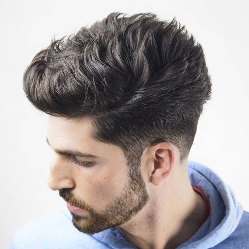 Taper Fade With Quiff Hairstyles For Men