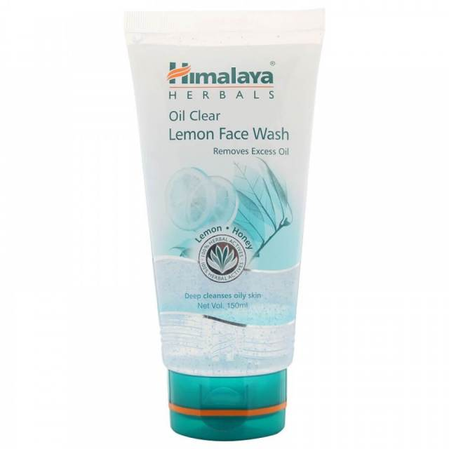 Himalaya Oil Clear Lemon Face Wash-10