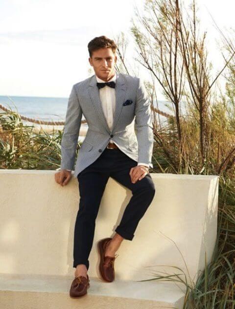 Summer Formal Look For Men