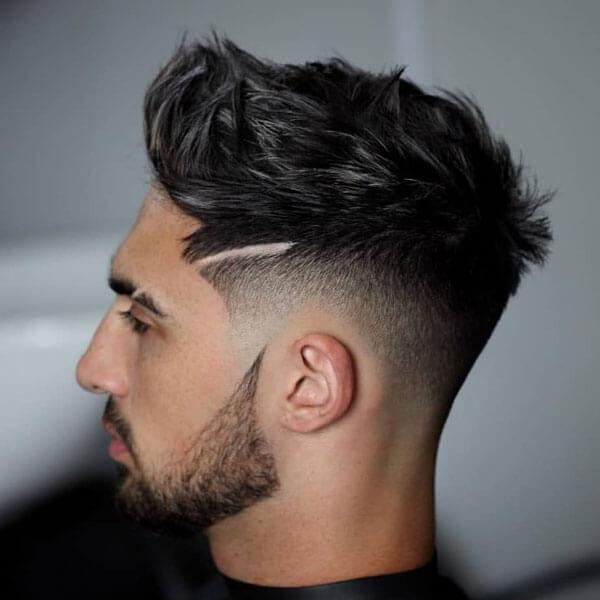 18.Textured Quiff hairstyles
