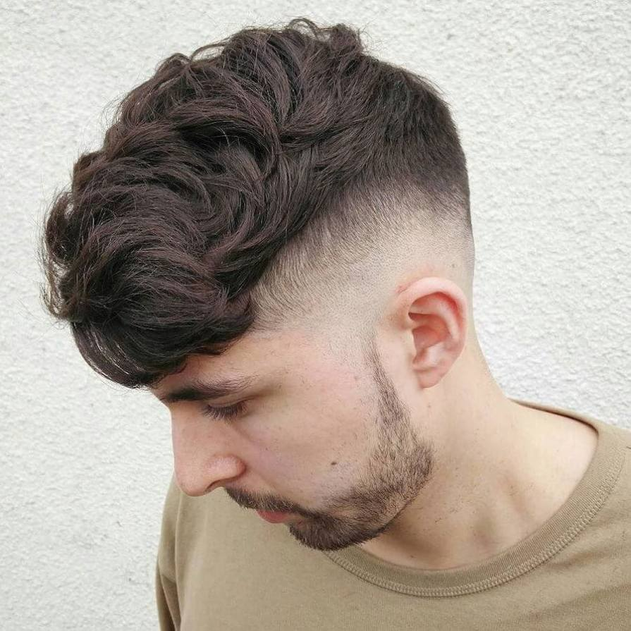 Skin Fade + Diffused Hair On Top
