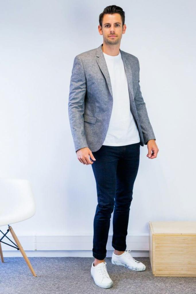 Casual Blazers With Jeans For Men