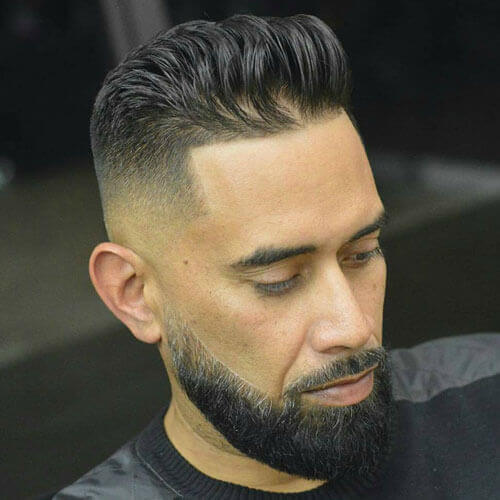 High Fade + Line Up + Textured Top