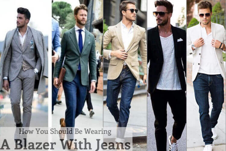 How to Wear a Blazer With Jeans For Men-Best Blazer With Jeans outfits For Men