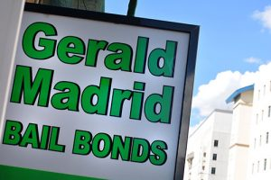 Gerald Madrid Bail Bonds is located in downtown Albuquerque. Photo by Ricky Garcia / NM News Port
