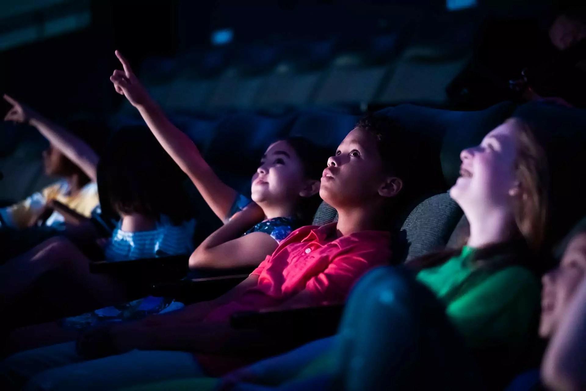 Kids in a Planetarium