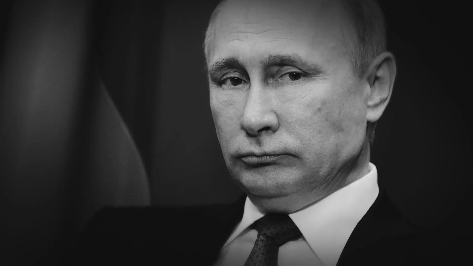Portrait of Vladimir Putin.