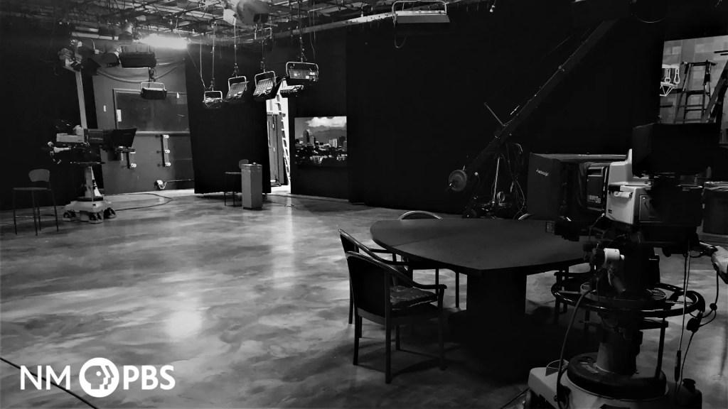 Black and White Studio Background