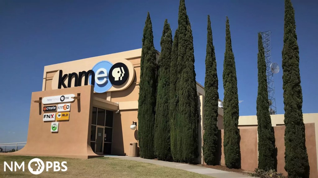 KNME Building Background