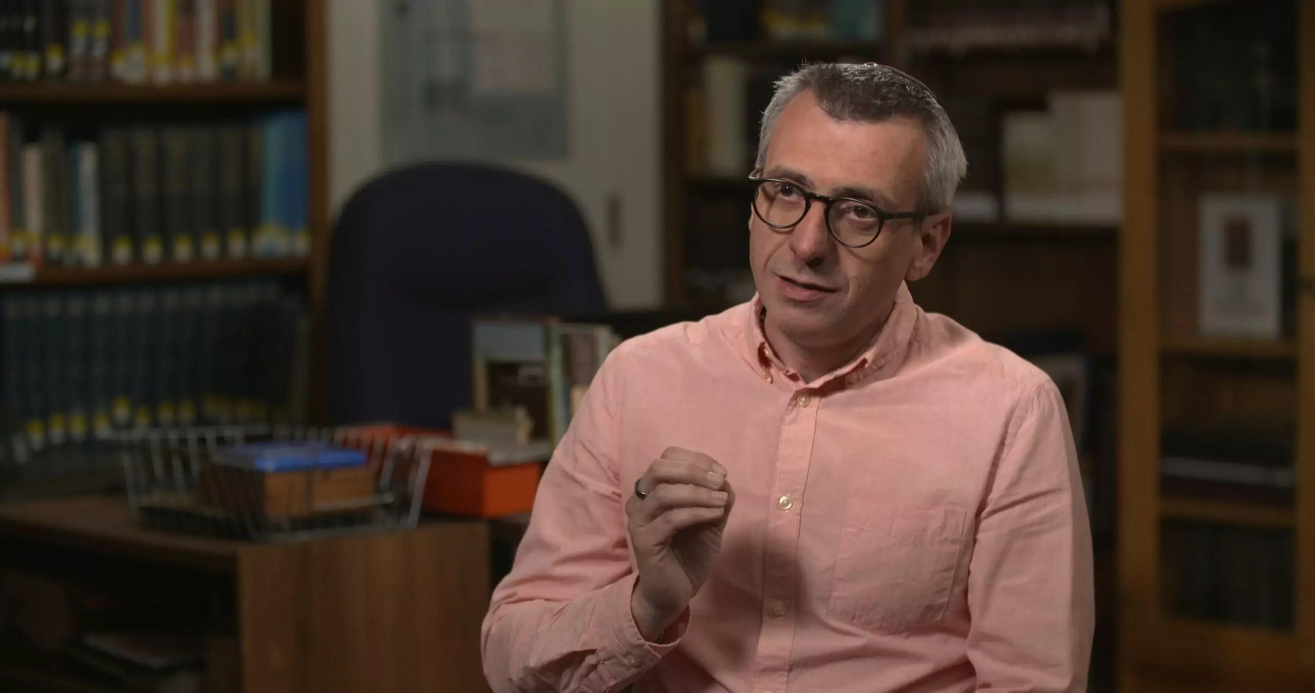 Portrait of Rabbi Jordi Gendra-Molina.