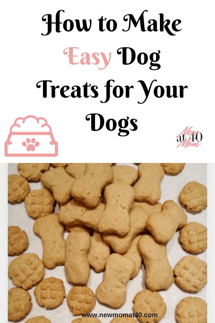 How to Make Easy Dog Treats For Your Dgos #dogtreats #easydogtreats