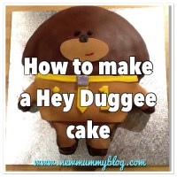 Make a Hey Duggee cake in 8 steps!