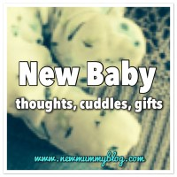 New baby: thoughts, cuddles, gifts